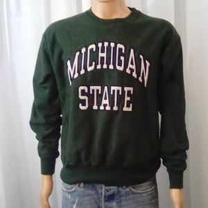 Steve and Barry's Green Michigan State Sweater
